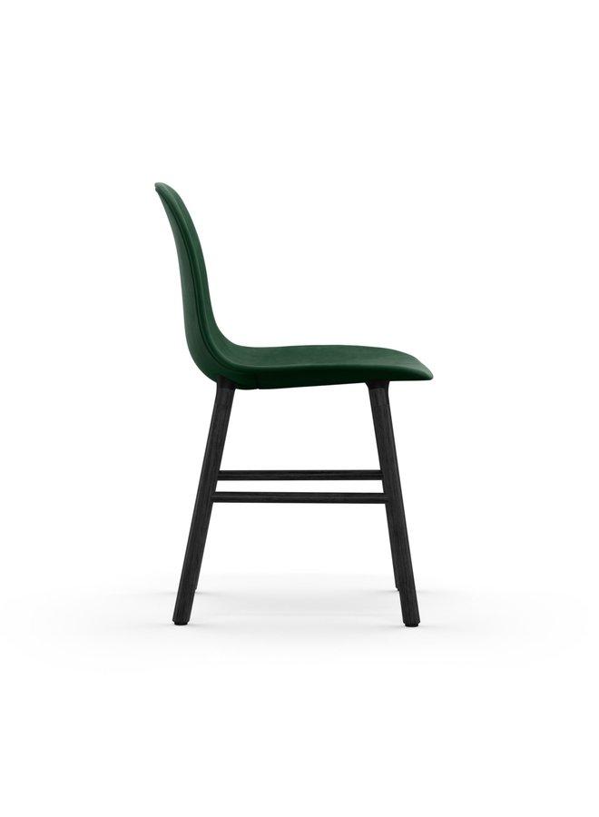 Form Chair Full Upholstery Black