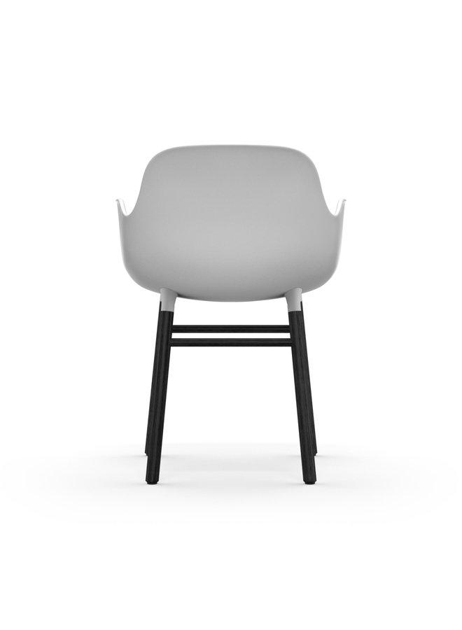 Form Armchair Black Oak