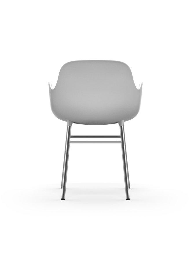Form Armchair Chrome