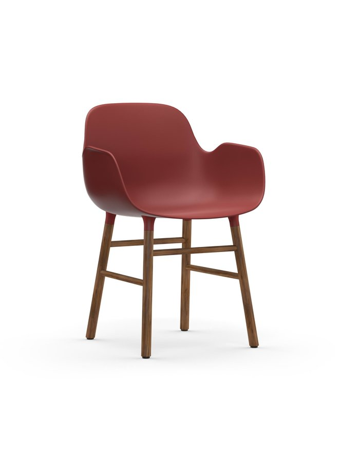 Form Armchair Walnut
