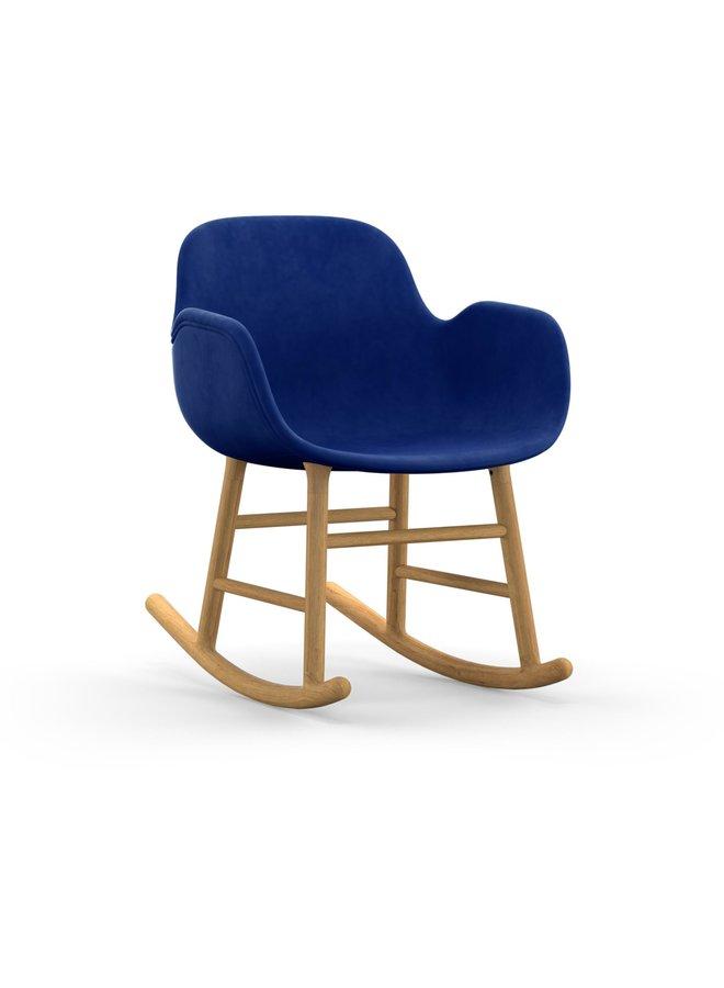 Form Rocking Armchair Full Upholstery Oak