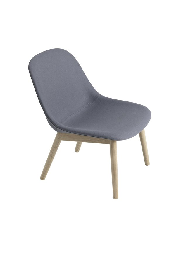 FIBER LOUNGE CHAIR / WOOD BASE