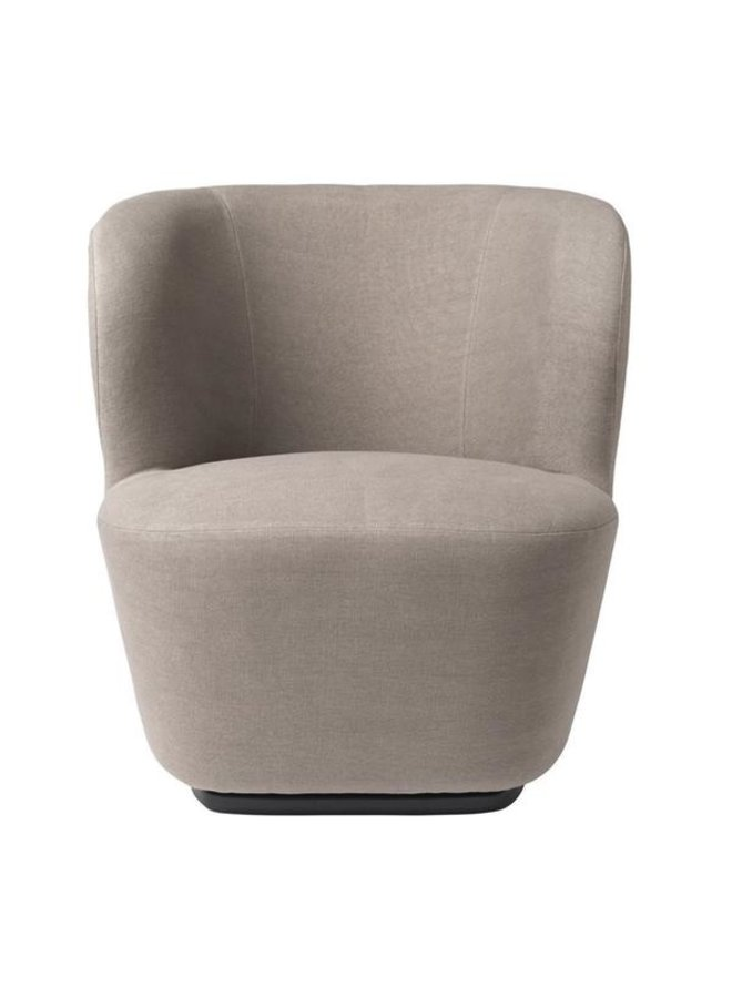 Stay Lounge Chair - Fully Upholstered, Small, Returning Swivel