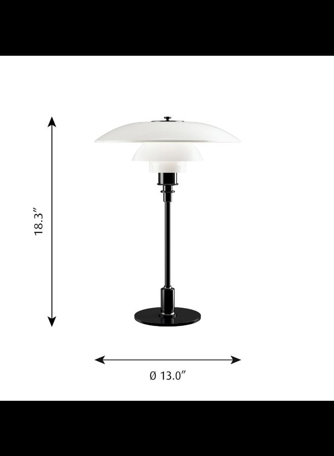 PH 3.5-2.5 Glass Table Lamp
