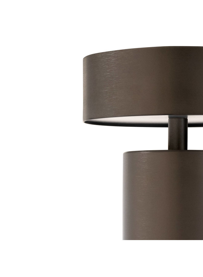 Column LED table lamp - Bronze