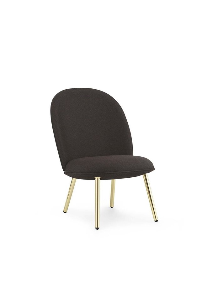 Ace Lounge Chair Brass