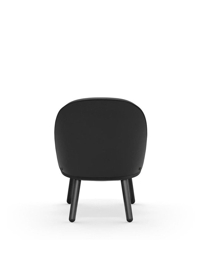 Ace Lounge Chair Black Oak