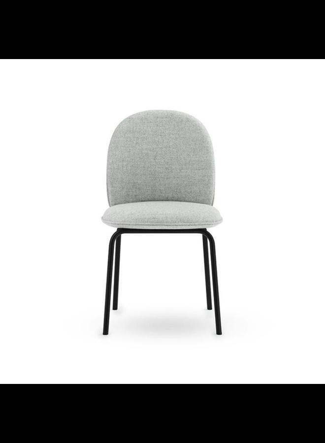 Ace Chair Full Upholstery Black Steel