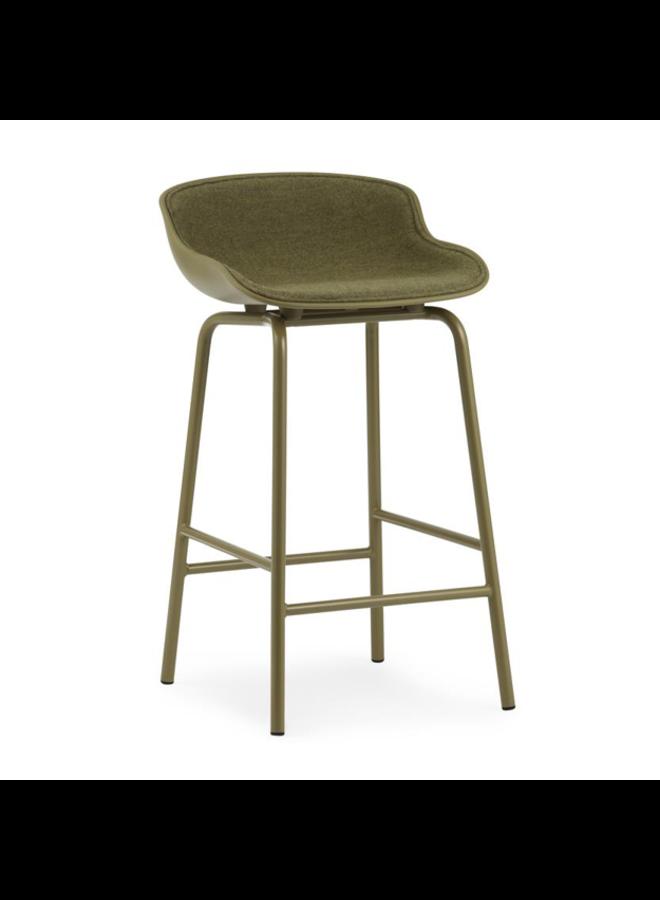 Hyg Barstool Front Upholstery Steel 65cm