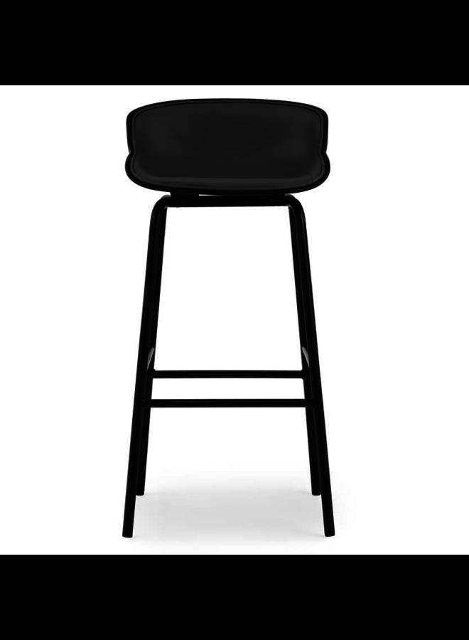 Hyg Barstool 75 cm Front Upholstery Steel