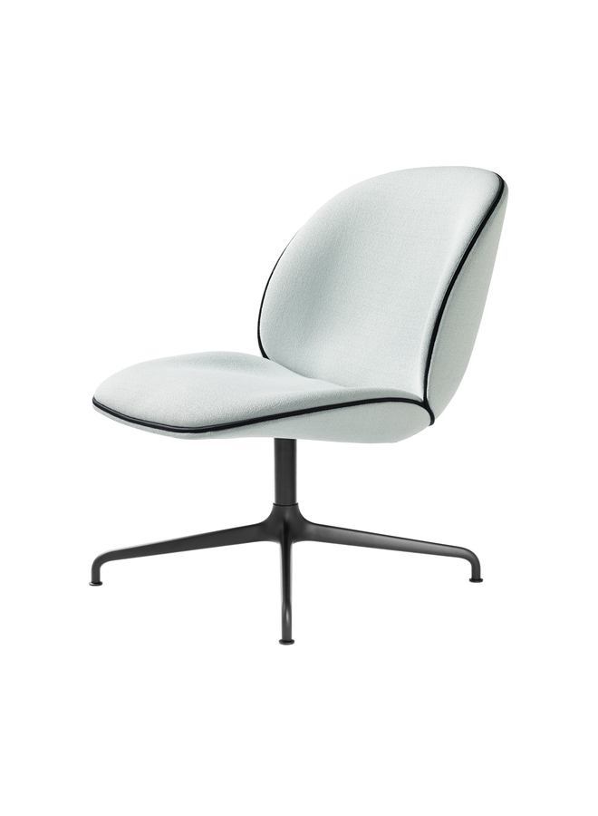 Beetle Lounge Chair - Fully Upholstered, 4-star base