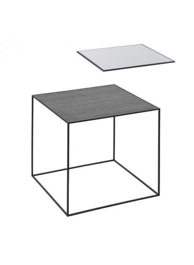 Twin 35 table, Black frame