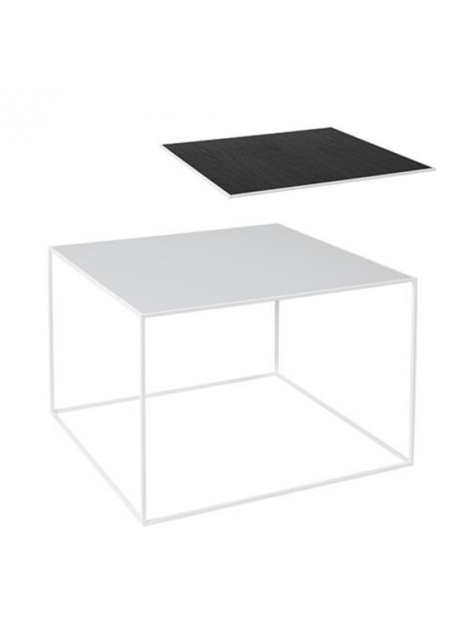 Twin 49 table, White frame