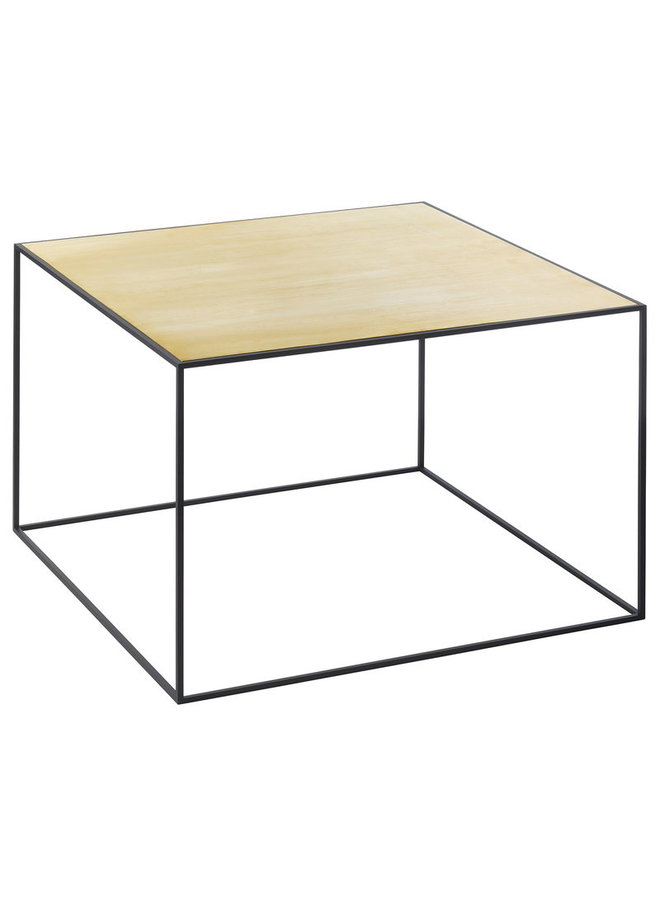 Twin 49 table, Black frame