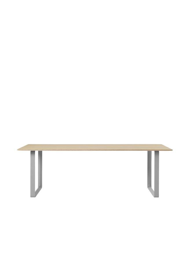 "70/70 TABLE / 225 CM - 88.5"""