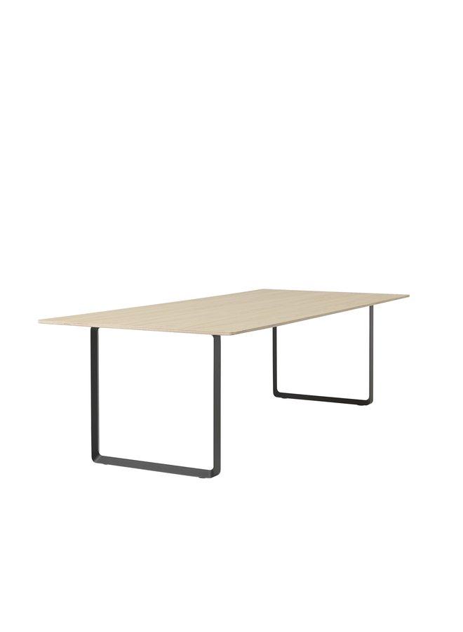 "70/70 TABLE / 255 X 108 CM / 100.5 X 42.5"""