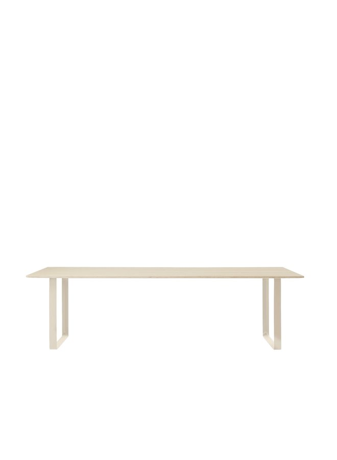 "70/70 TABLE / 255 CM - 100.5"""