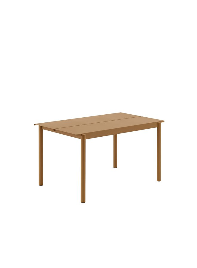 LINEAR STEEL TABLE / 140 X 75CM / 55.1 X 29.5""