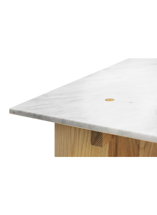 Solid Table White
