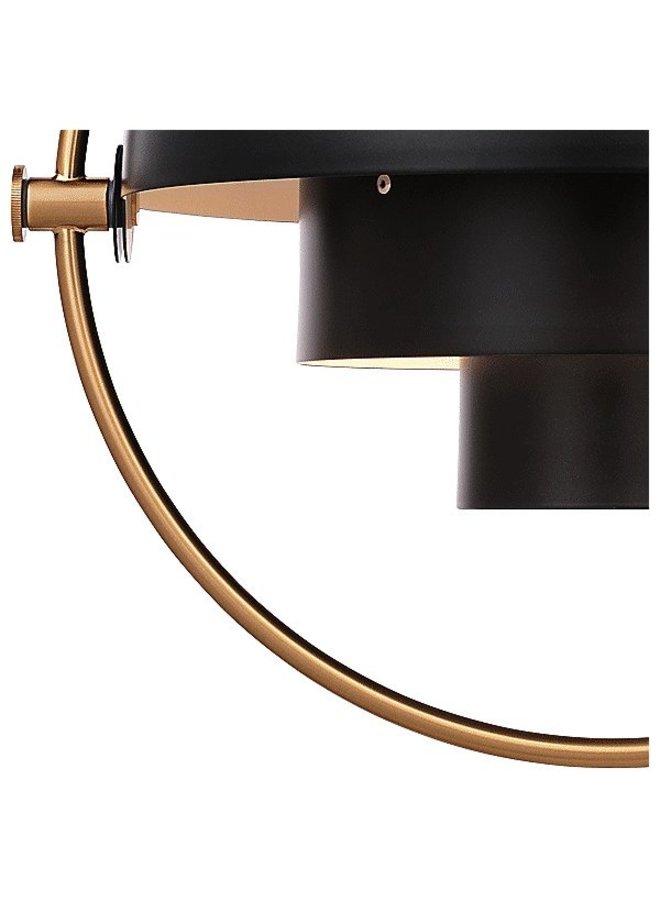 Multi-Lite Pendant, Brass base