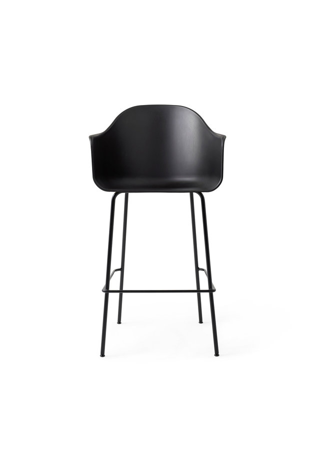 Harbour Chair, Bar, Steel-Black