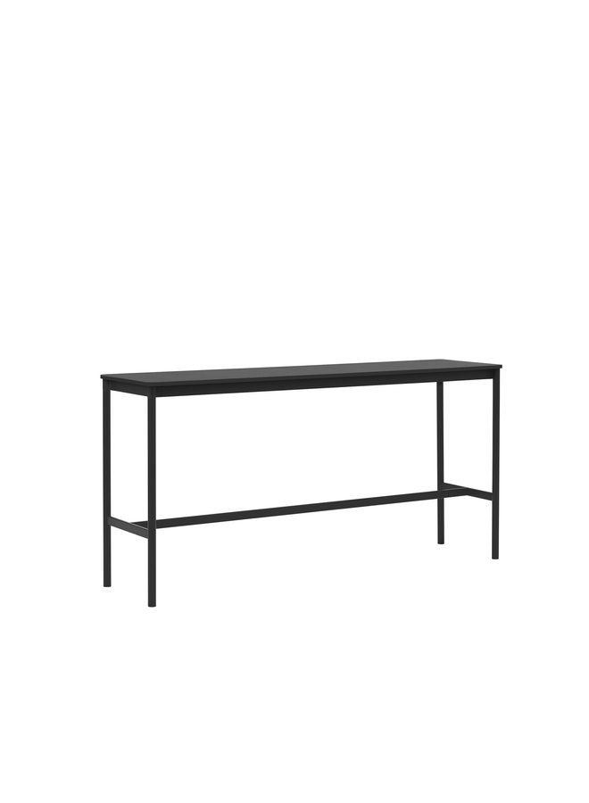 BASE HIGH TABLE / 190 X 50 H: 95 CM / 74.8 X 19.7 H: 37.4""