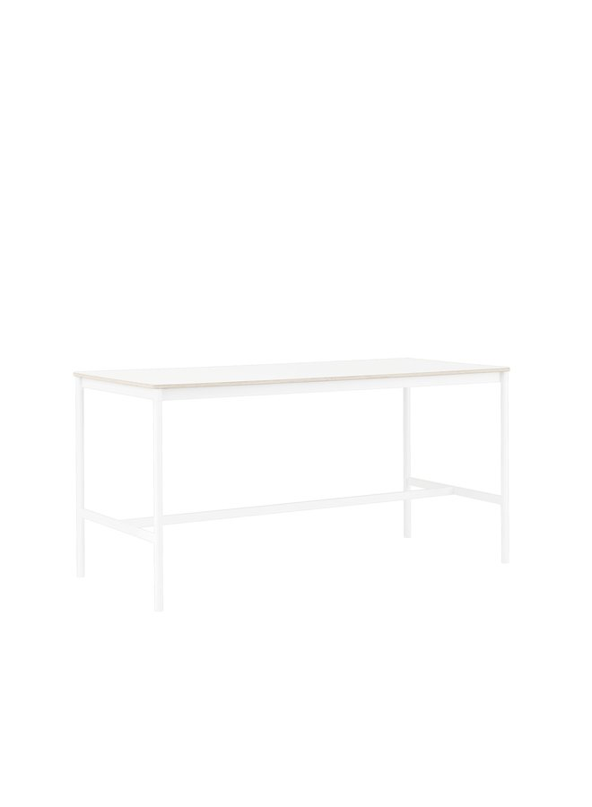 BASE HIGH TABLE / 190 X 85 H: 95 CM / 74.8 X 33.5 H: 37.4""