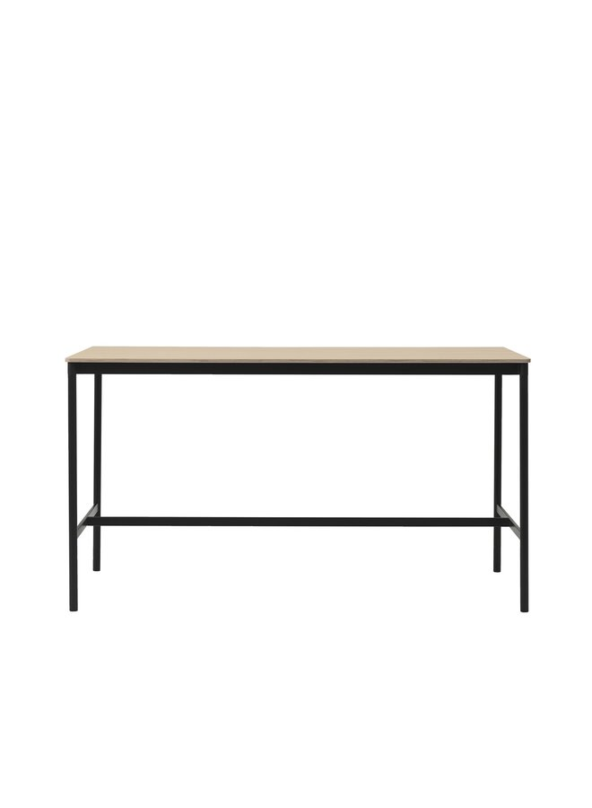 "BASE HIGH TABLE / 190 X 85 H: 105 CM / 74.8 X 33.5 H: 41.3"""
