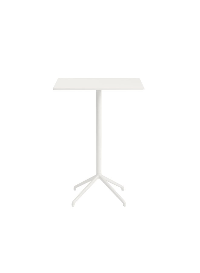 STILL CAFÉ TABLE / 75 X 65 H: 105 CM / 29.5 X 25.6 H: 41.3""