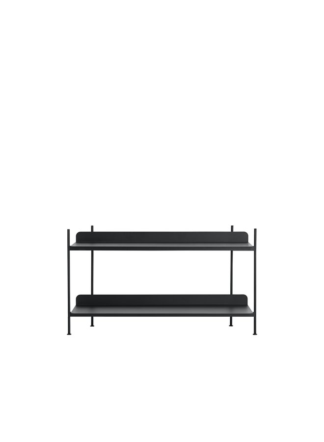 COMPILE SHELVING SYSTEM BLACK