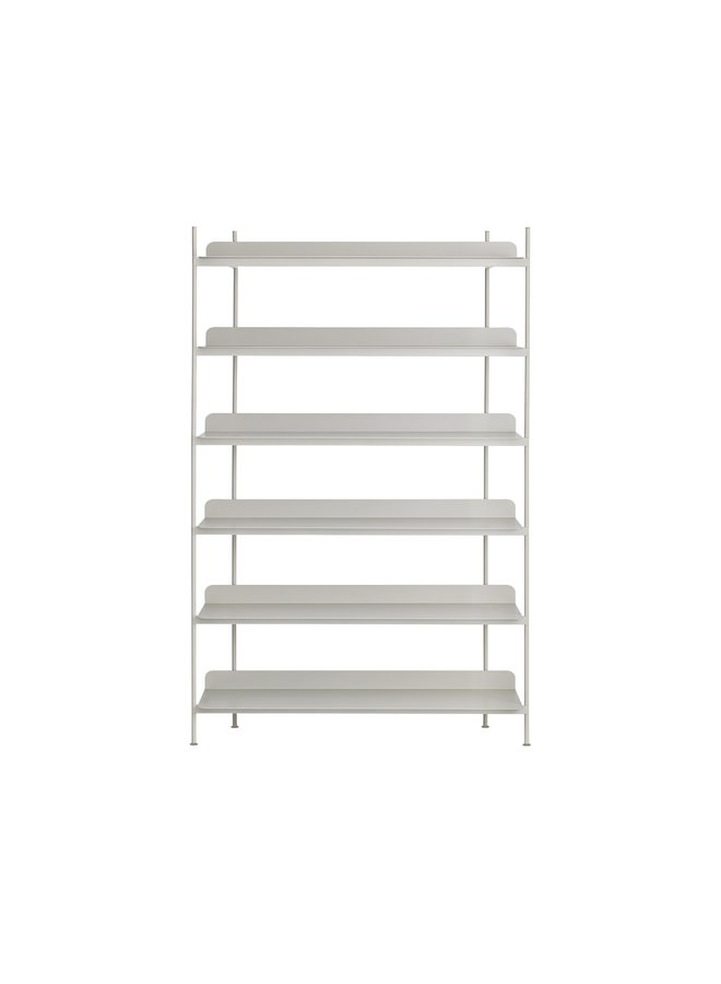 COMPILE SHELVING SYSTEM GREY