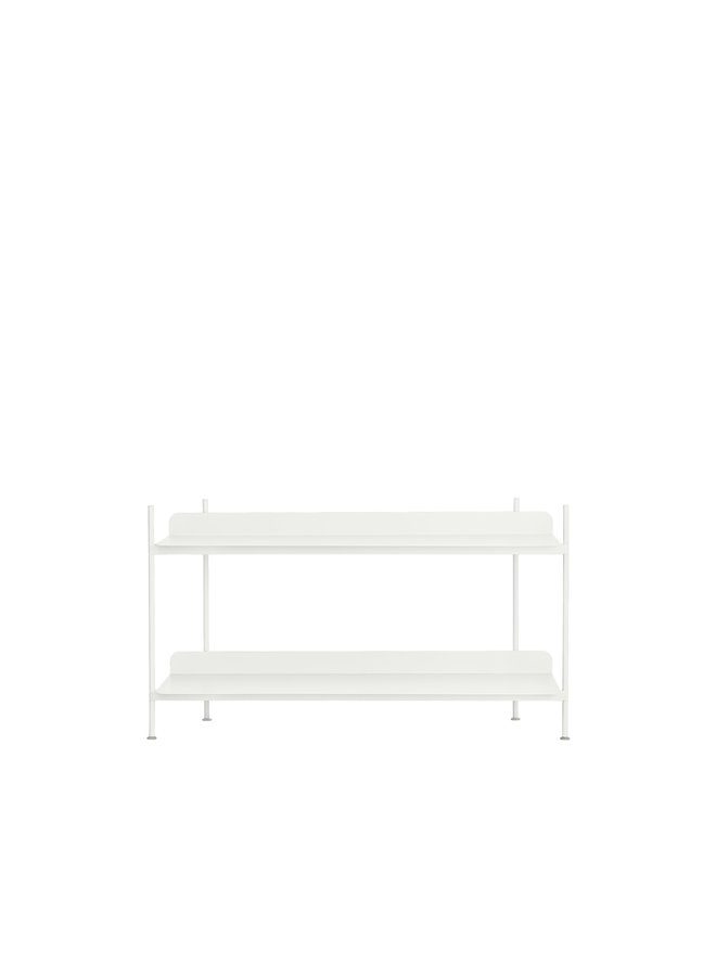 COMPILE SHELVING SYSTEM WHITE