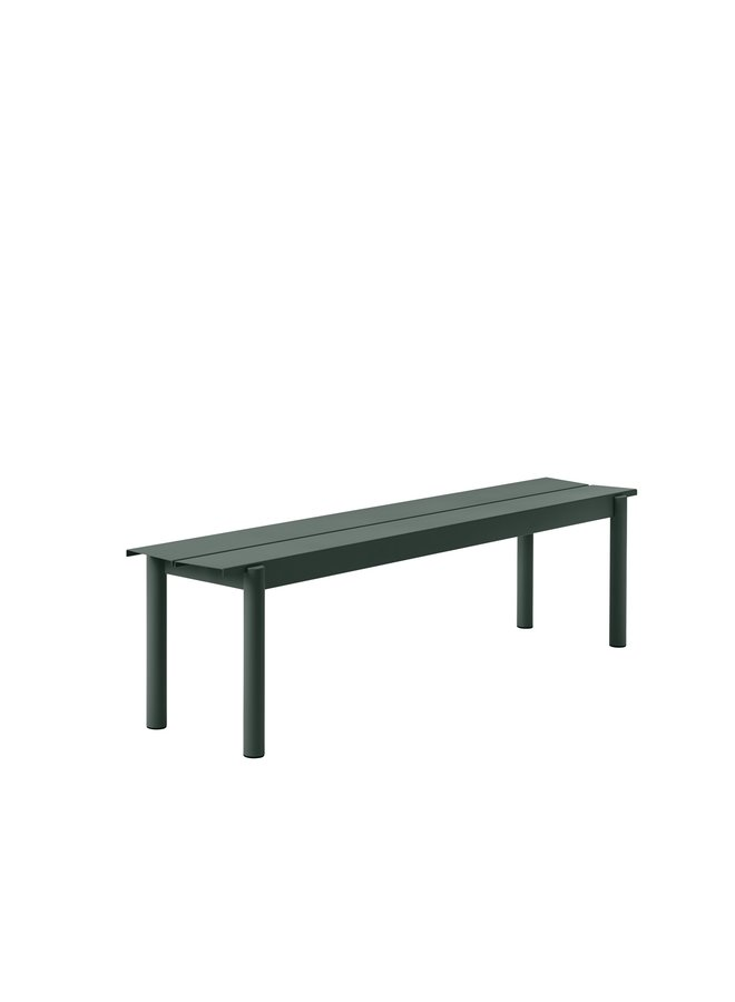 Linear Steel Bench 170