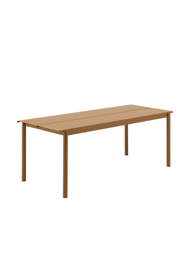 LINEAR STEEL TABLE / 200 X 75CM / 78.7 X 29.5""