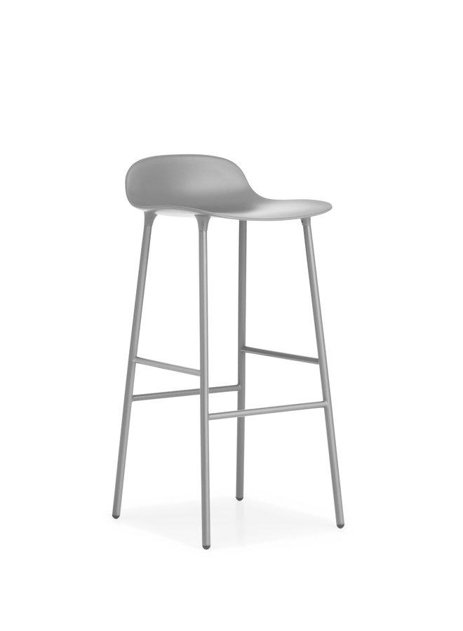 Form Barstool 75 cm Steel