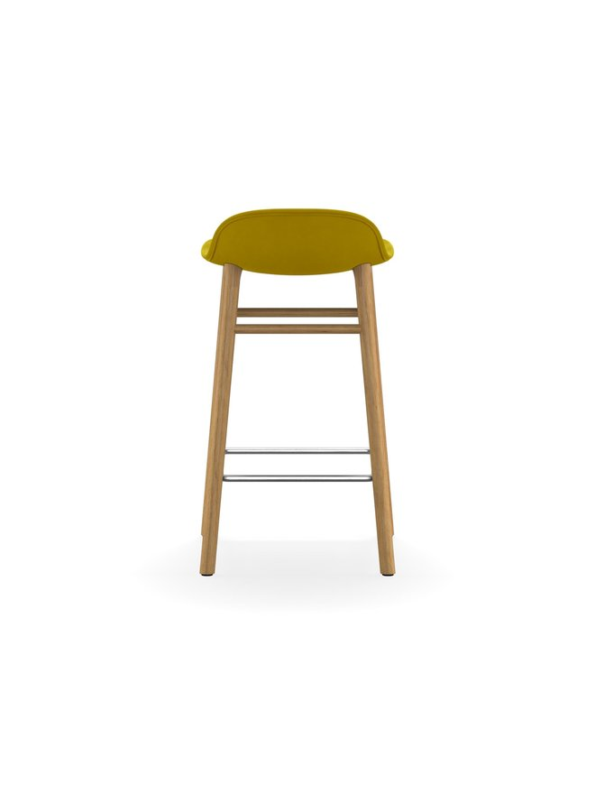 Form Barstool 65 cm Full Upholstery Oak