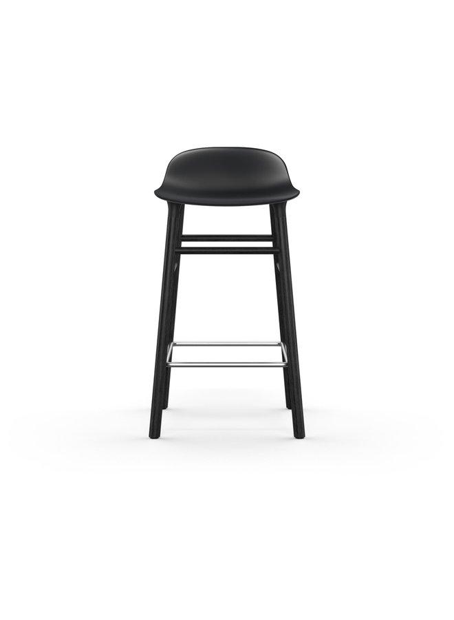 Form Barstool 65 cm Black