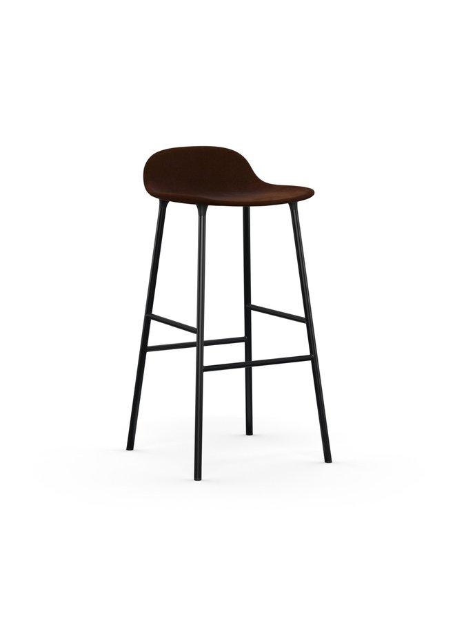 Form Barstool 75 cm Full Upholstery Steel