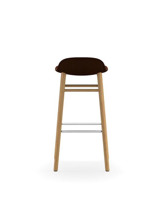 Form Barstool 75 cm Full Upholstery Oak