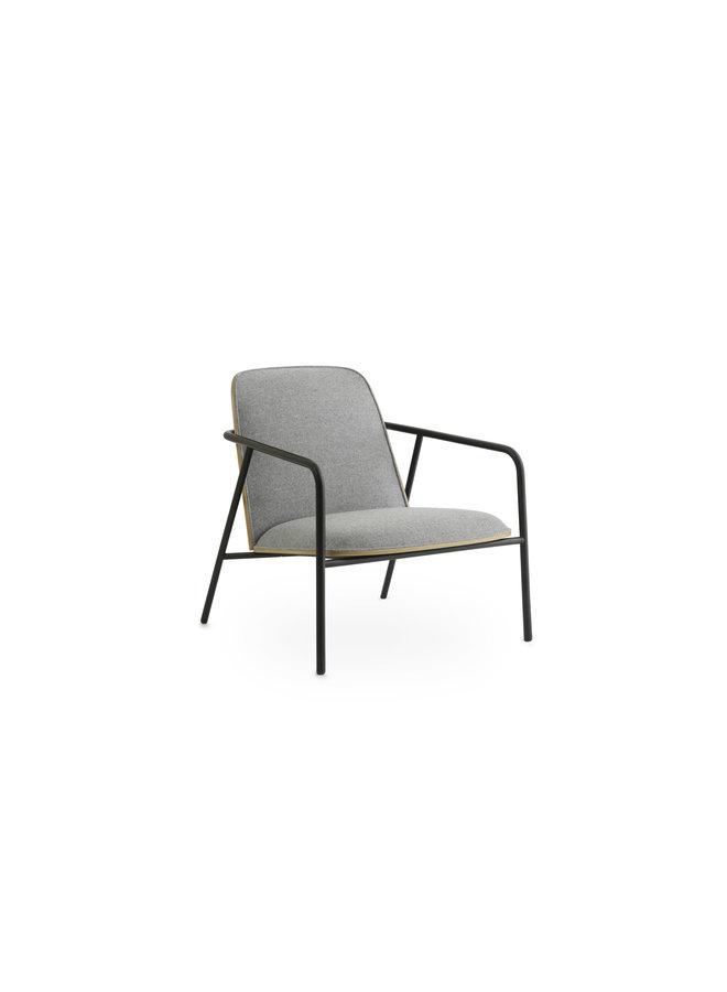 Pad Lounge Chair Low Black