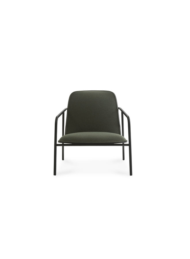 Pad Lounge Chair Low Black