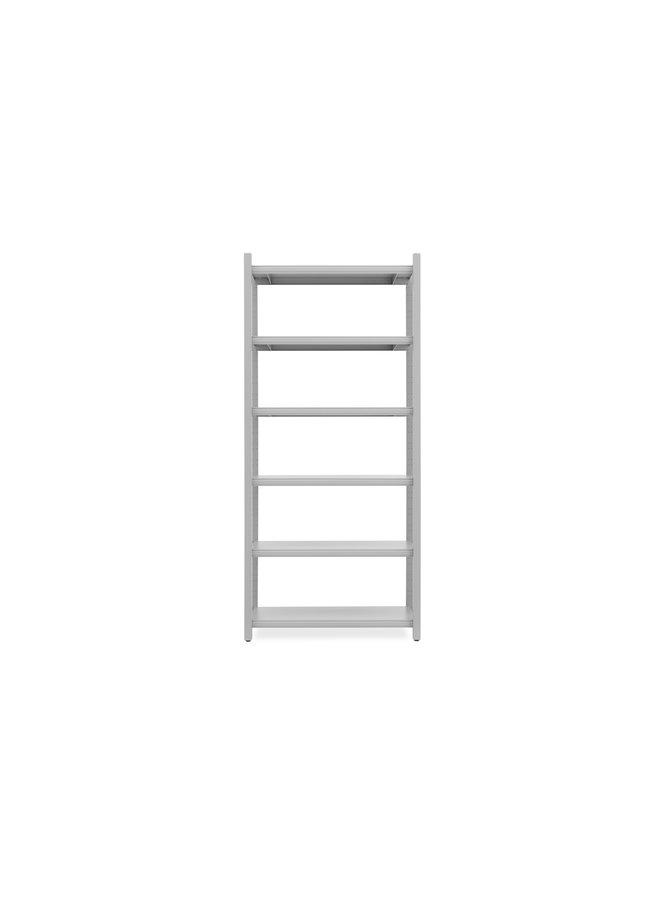 Work Bookcase High 4 Pillar