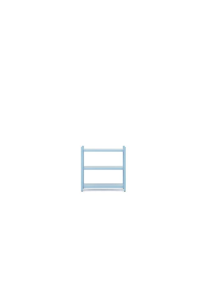 Work Bookcase Low 4 Pillar
