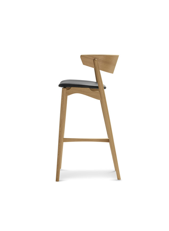Sibast No 7 Oak Bar stool 75cm
