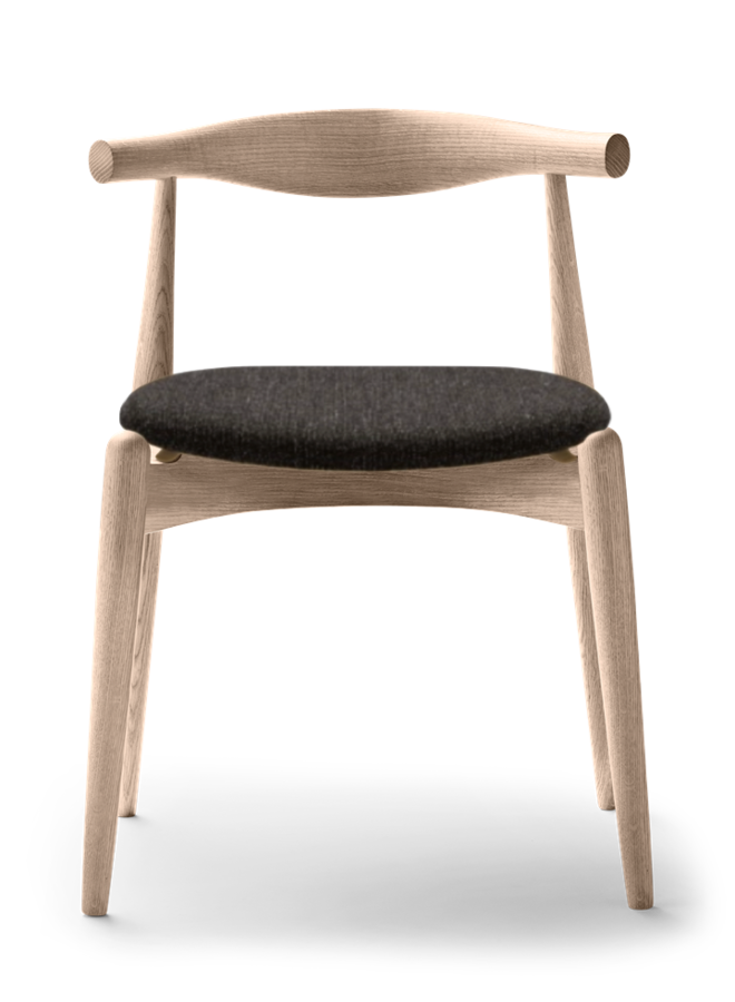 CH20 ELBOW CHAIR Fabric Oak
