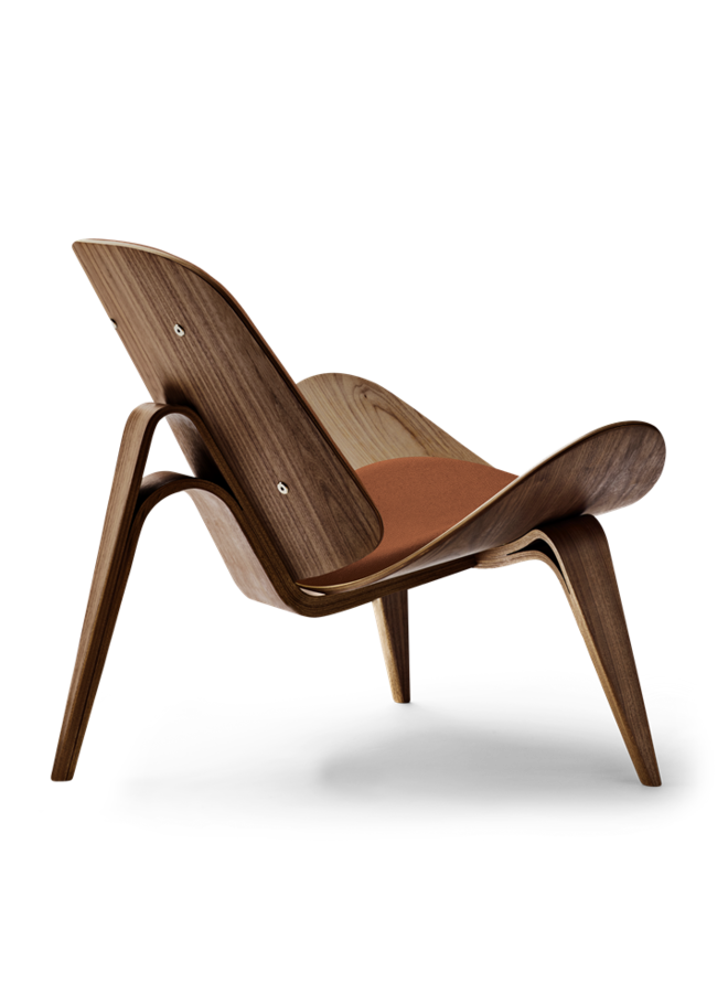 CH07 / SHELL CHAIR Walnut