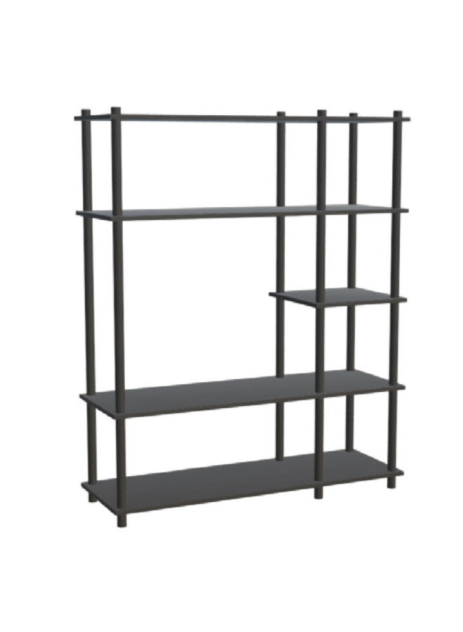 Elevate shelving system (Black Painted)