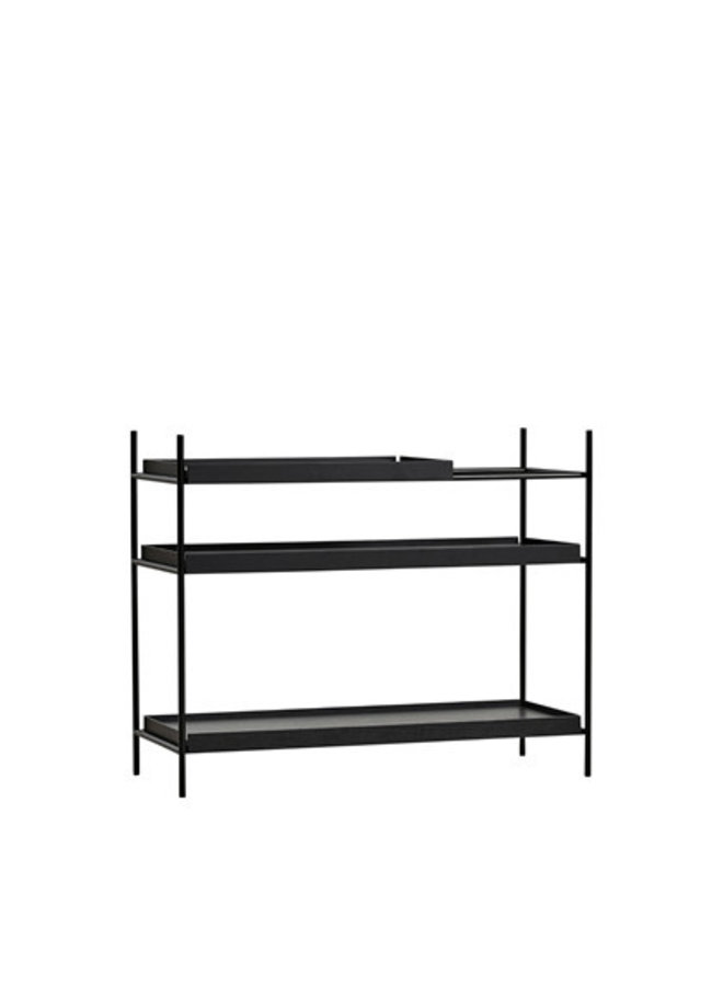 Tray shelf, low