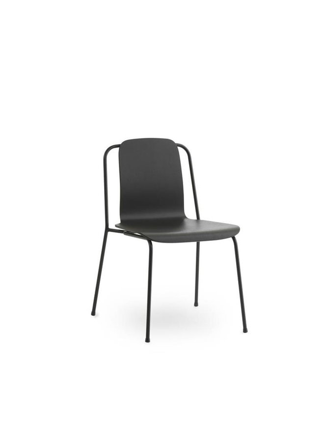 Studio Chair Black Steel