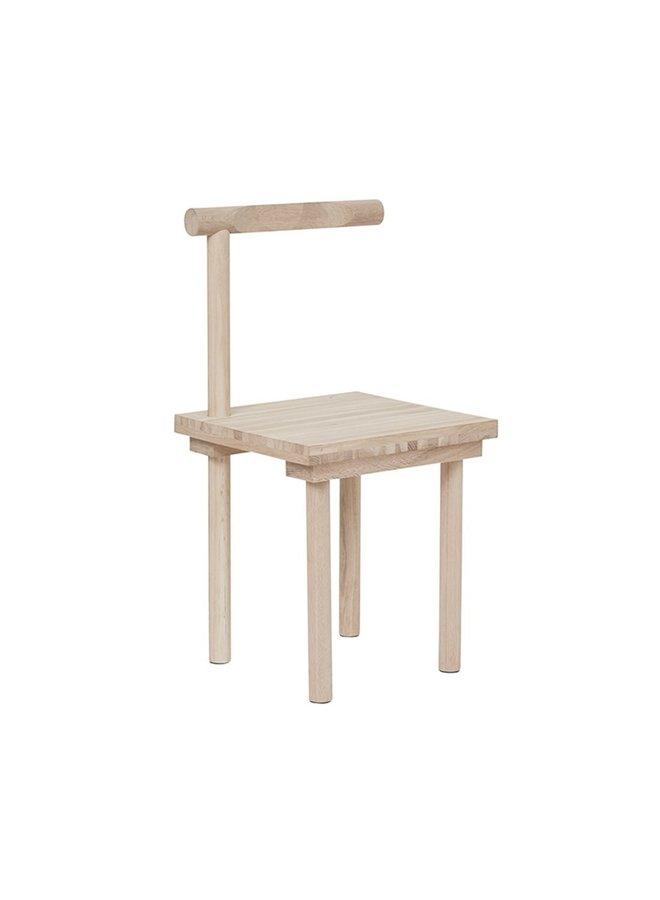 Sculptural Chair - Solid Oak